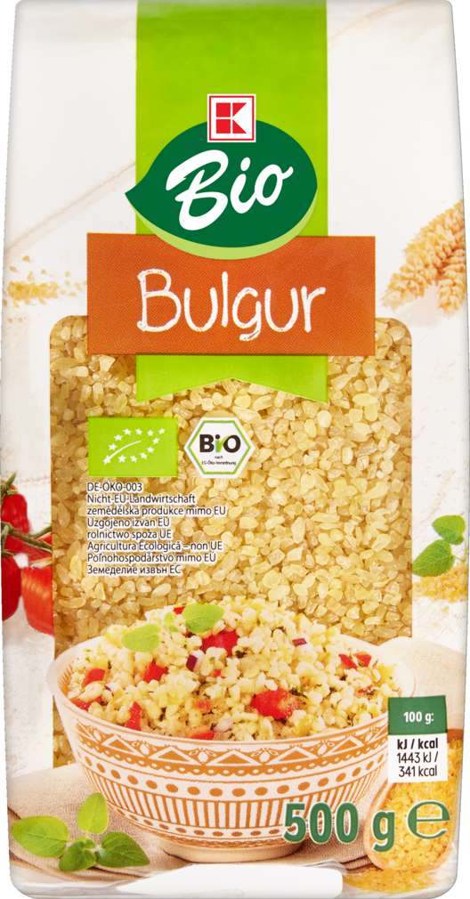 Abbildung des Sortimentsartikels K-Bio Bulgur 500g