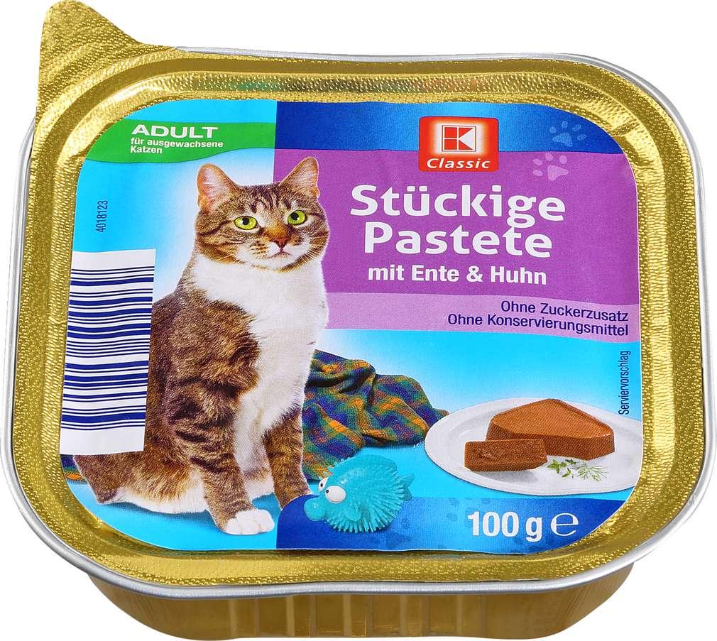 Abbildung des Sortimentsartikels K-Classic Katzennahrung Ente+Huhn 100g
