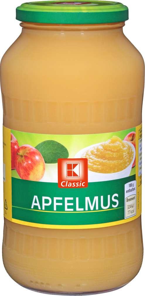 Abbildung des Sortimentsartikels K-Classic Apfelmus 720ml