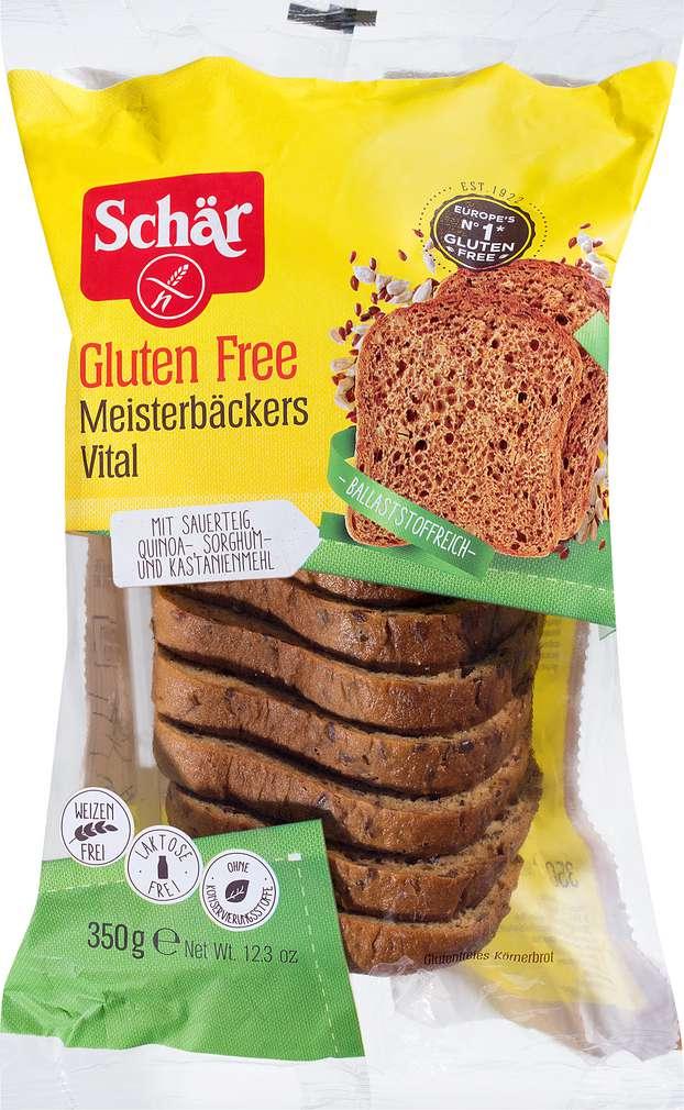 Abbildung des Sortimentsartikels Schär Meisterbäckers Vital glutenfrei 350g