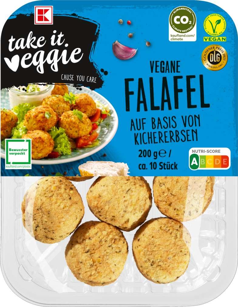 Abbildung des Sortimentsartikels K-Take it Veggie Falafel 200g