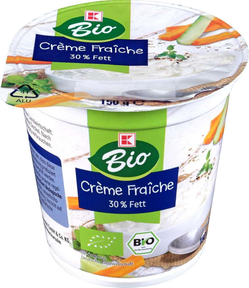 Abbildung des Sortimentsartikels K-Bio Crème Fraiche 30% Fett 150g
