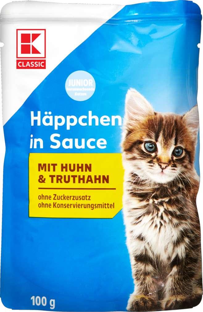Abbildung des Sortimentsartikels K-Classic Katzennahrung Huhn+Truthahn 100g