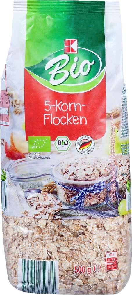 Abbildung des Sortimentsartikels K-Bio 5-Korn-Flocken 500g