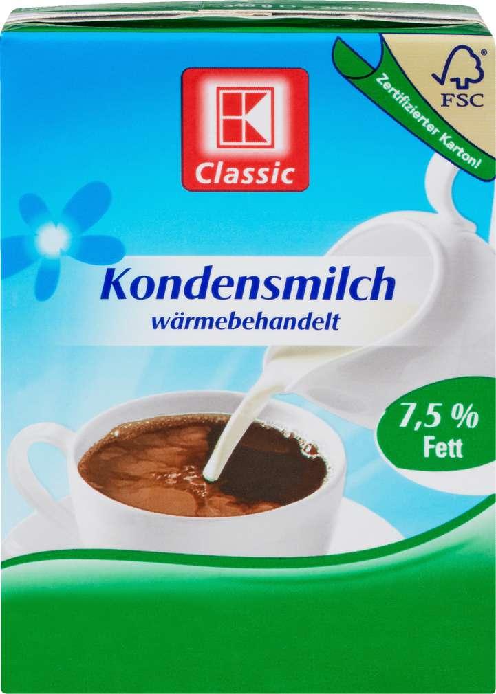 Abbildung des Sortimentsartikels K-Classic Kondensmilch 7,5% 340g