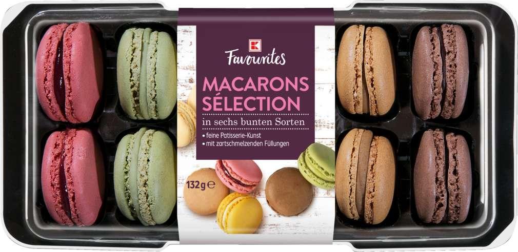Abbildung des Sortimentsartikels Exquisit Macarons 12 Stück