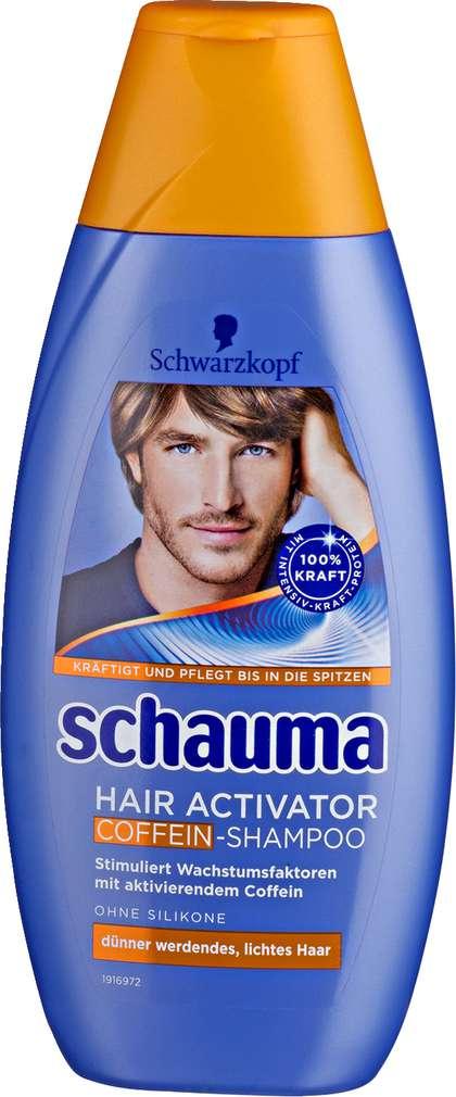 Abbildung des Sortimentsartikels Schwarzkopf Schauma Shampoo Activator Koffein 400ml