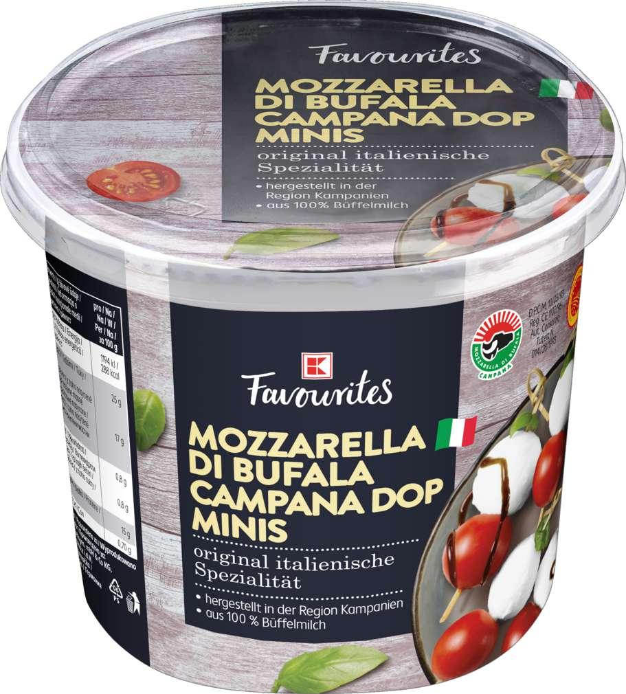 Abbildung des Sortimentsartikels Exquisit Büffelmozzarella Minis 250g