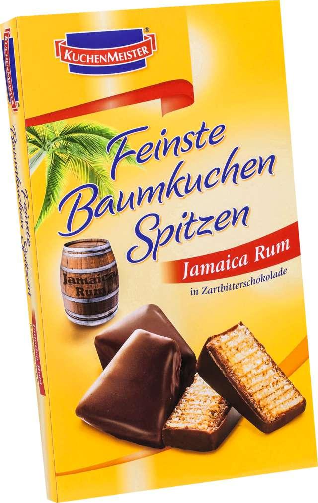 Abbildung des Sortimentsartikels Kuchenmeister Feinste Baumkuchen-Spitzen Jamaica Rum
