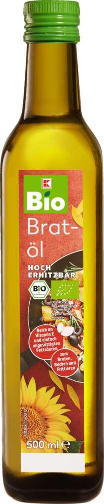 Abbildung des Sortimentsartikels K-Bio Bratöl hoch erhitzbar 500ml
