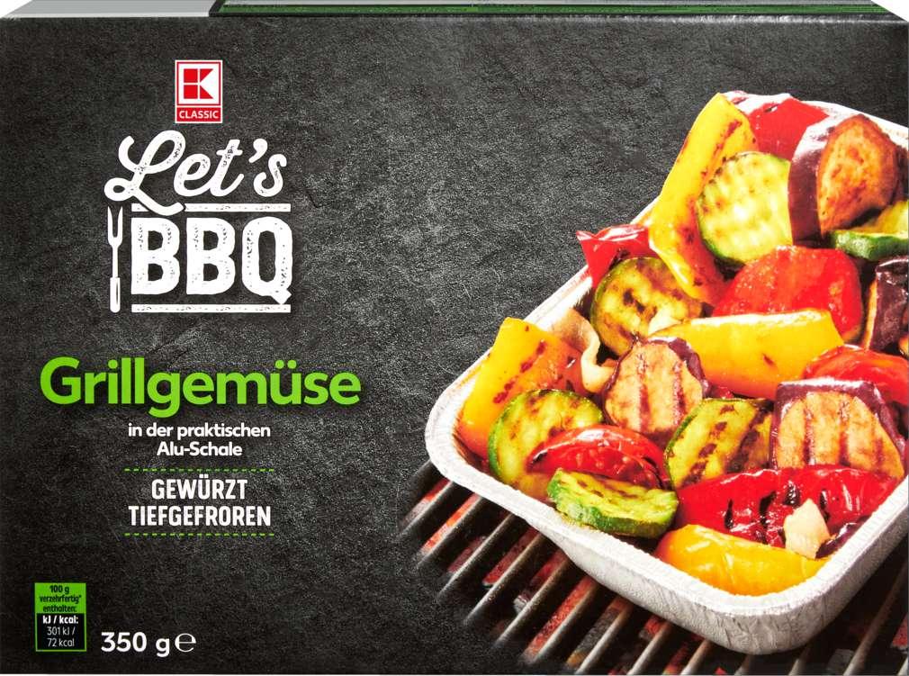 Abbildung des Sortimentsartikels K-Classic Grillschale Gemüse 350g