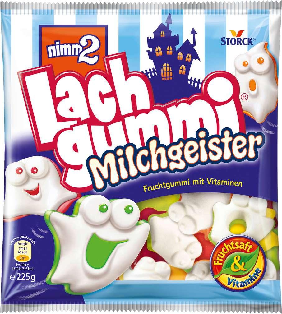 Abbildung des Sortimentsartikels Nimm 2 Lachgummi Milchgeister 225g