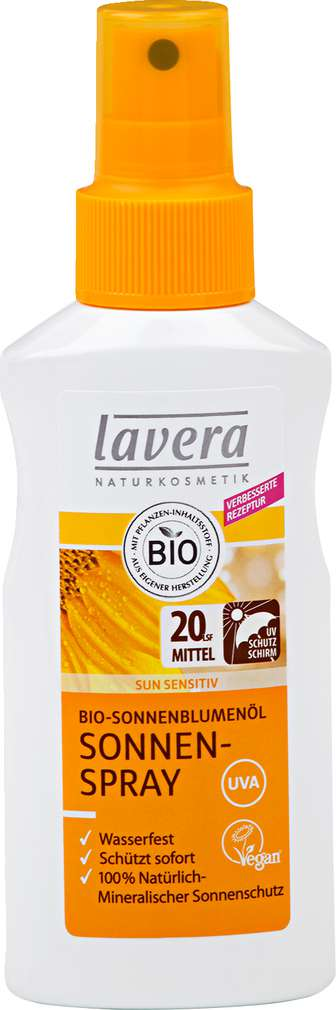 Abbildung des Sortimentsartikels Lavera Sonnencreme LSF20 125ml