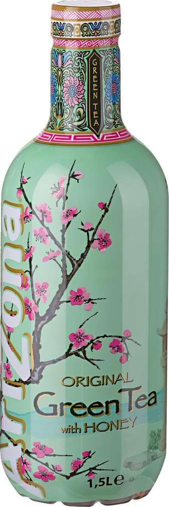 Abbildung des Sortimentsartikels Arizona Green Tea with Honey 1,5l