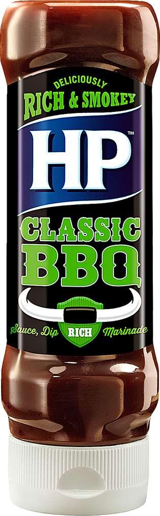 Abbildung des Sortimentsartikels HP Original BBQ-Sauce Classic Woodsmoke Flavour 465g