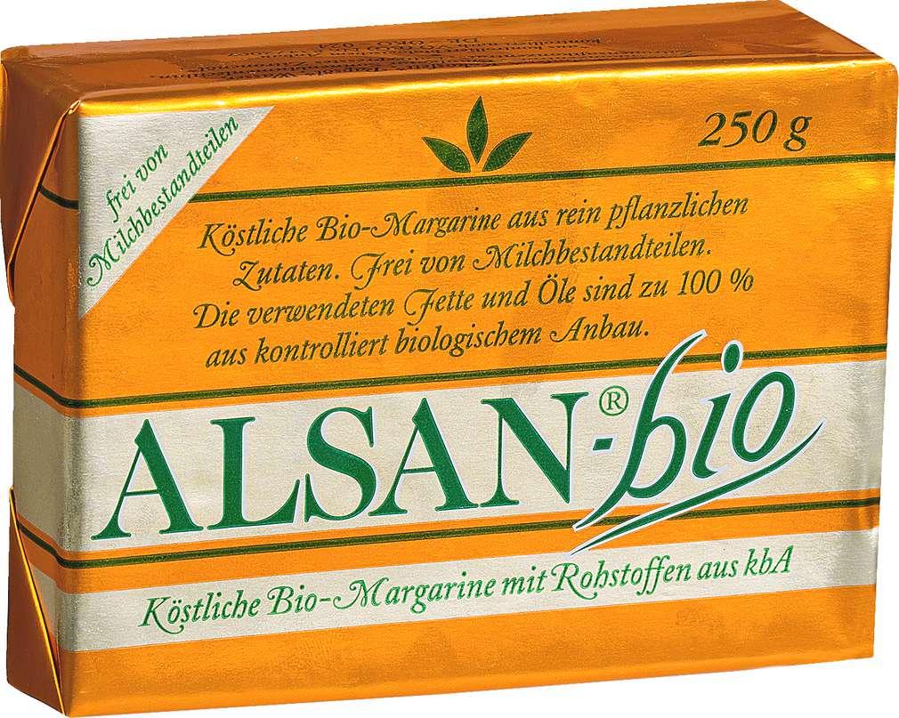 Abbildung des Sortimentsartikels Alsan Bio-Margarine 250g