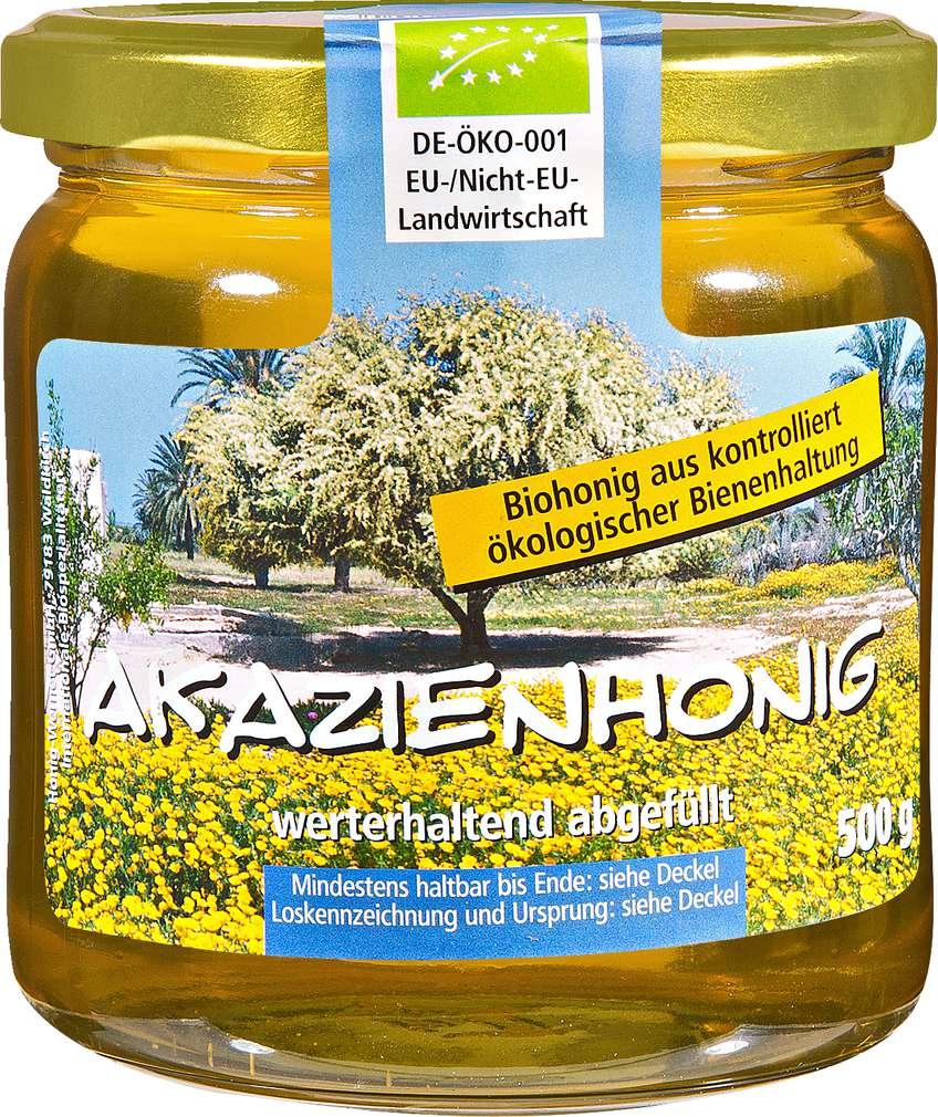 Abbildung des Sortimentsartikels Wernet Honig Akazienhonig 500g