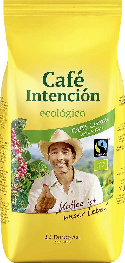 Abbildung des Sortimentsartikels Darboven Café Intención ecológico Café Crema 1000g