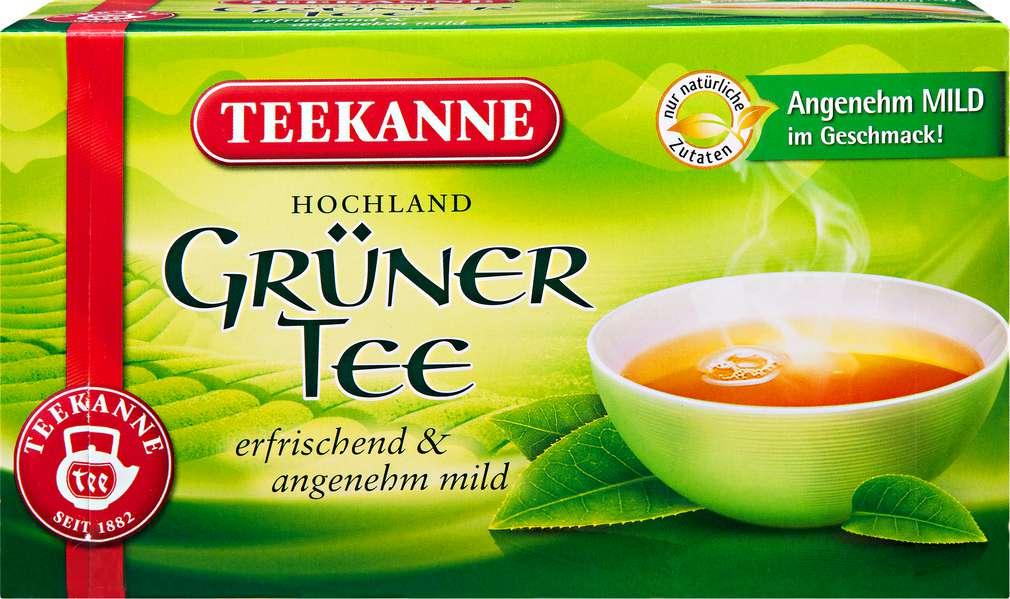 Abbildung des Sortimentsartikels Teekanne Grüner Tee 40x1,75g