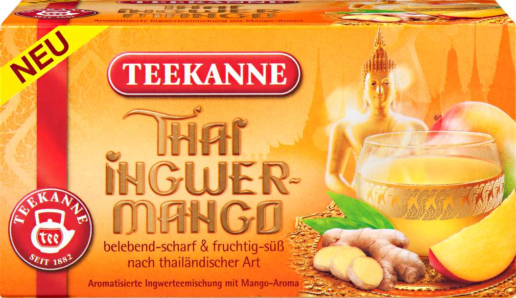 Abbildung des Sortimentsartikels Teekanne Thai Ingwei-Mango 20x2,25g