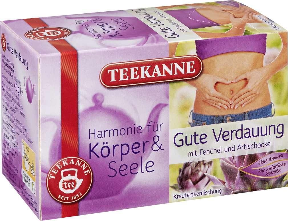 Abbildung des Sortimentsartikels Teekanne Harmonie für Körper & Seele Gute Verdauung 20x2g