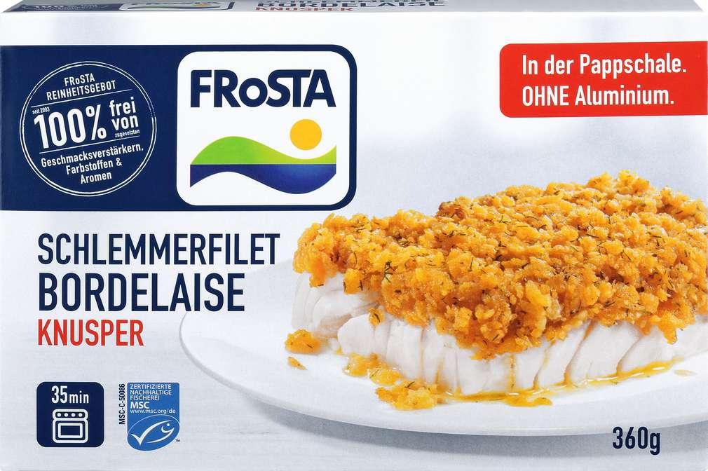 Abbildung des Sortimentsartikels Frosta Schlemmerfilet Bordelaise 360g