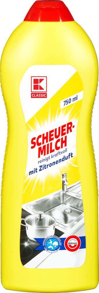 Abbildung des Sortimentsartikels K-Classic Scheuermilch 750ml