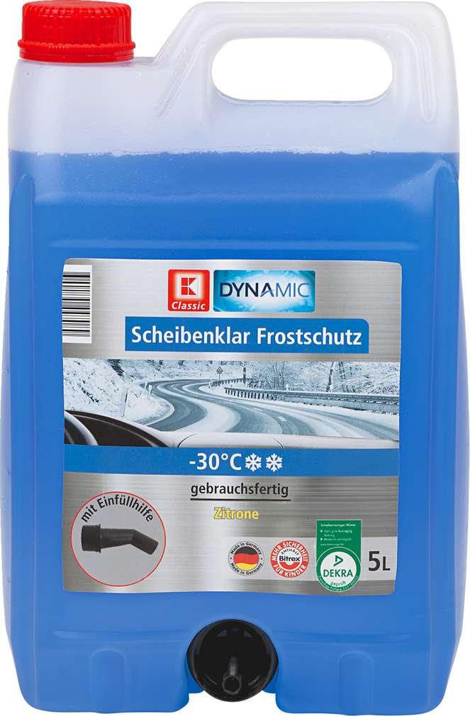 Abbildung des Sortimentsartikels K-Classic Dynamic Scheibenklar Frostschutz -30 °C 5l