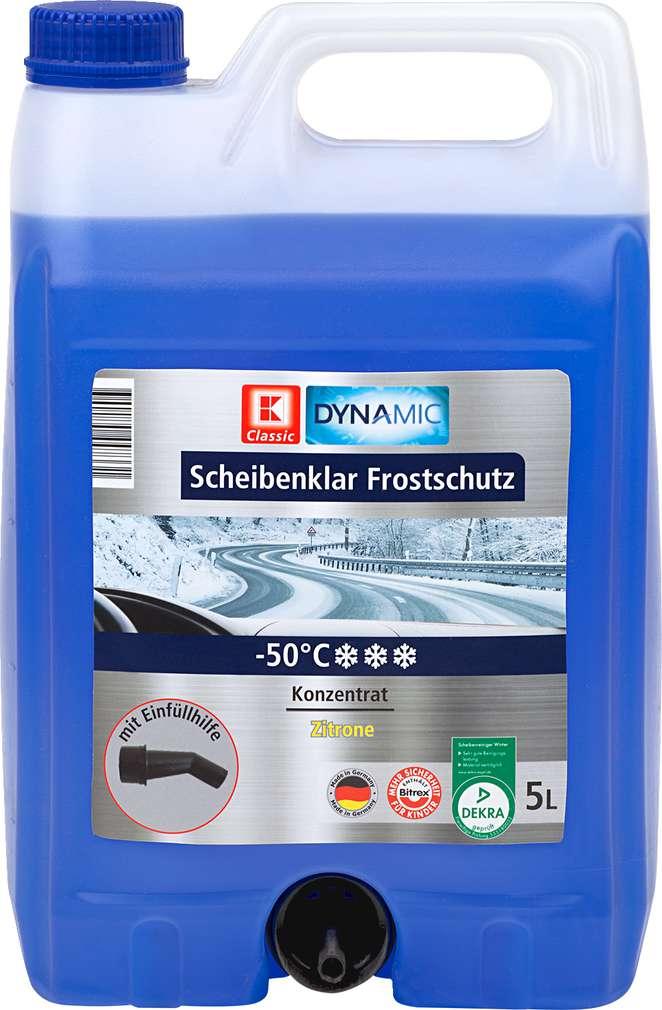 Abbildung des Sortimentsartikels K-Classic Scheibenklar Frostschutz Citrusduft 5l