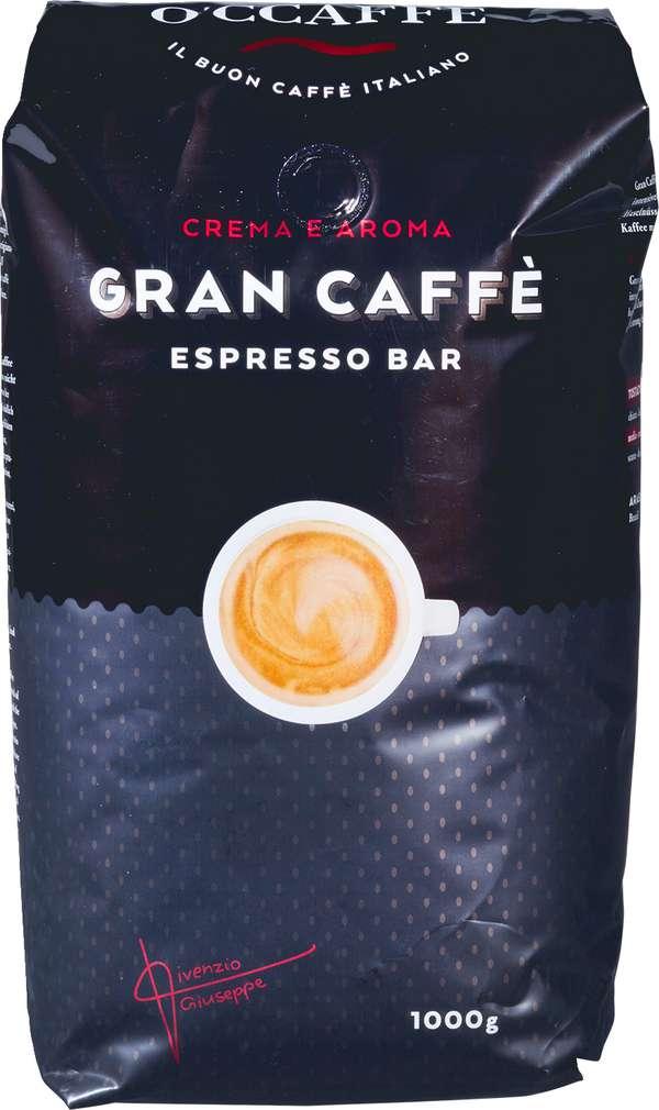 Abbildung des Sortimentsartikels O'CCaffe Gran caffè Espresso Bar 1000g