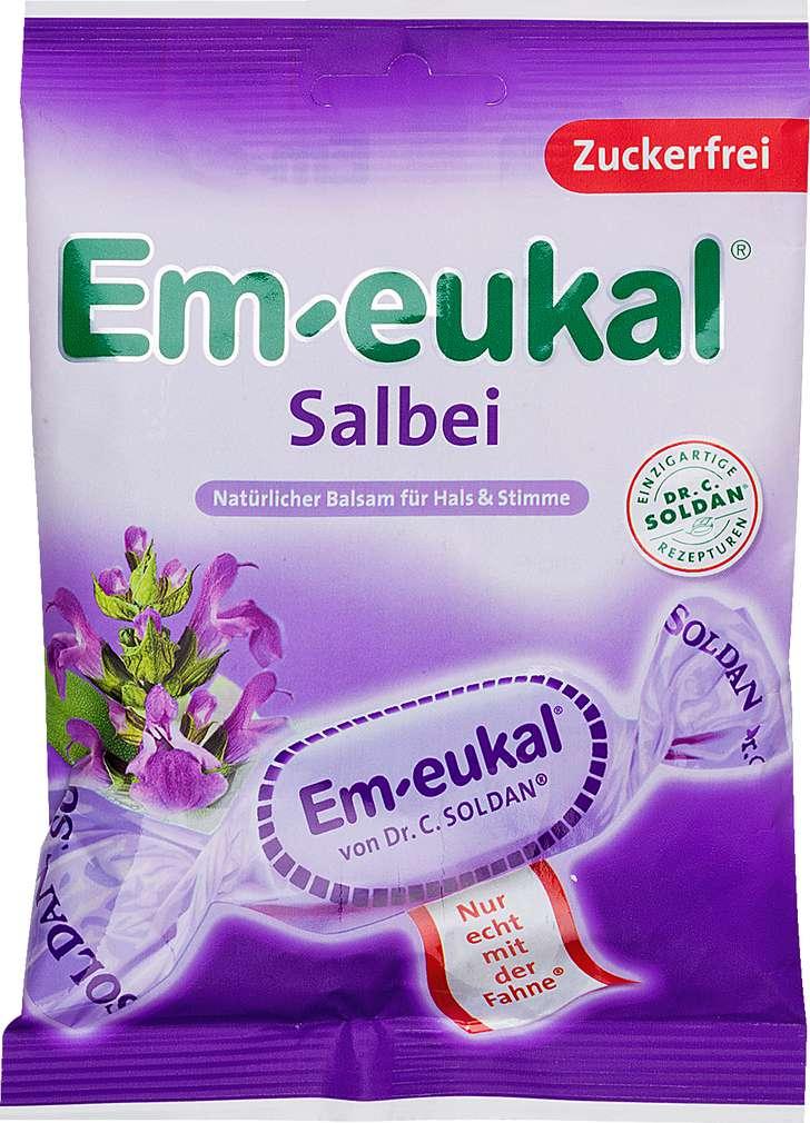 Abbildung des Sortimentsartikels Em-eukal Salbei 75g