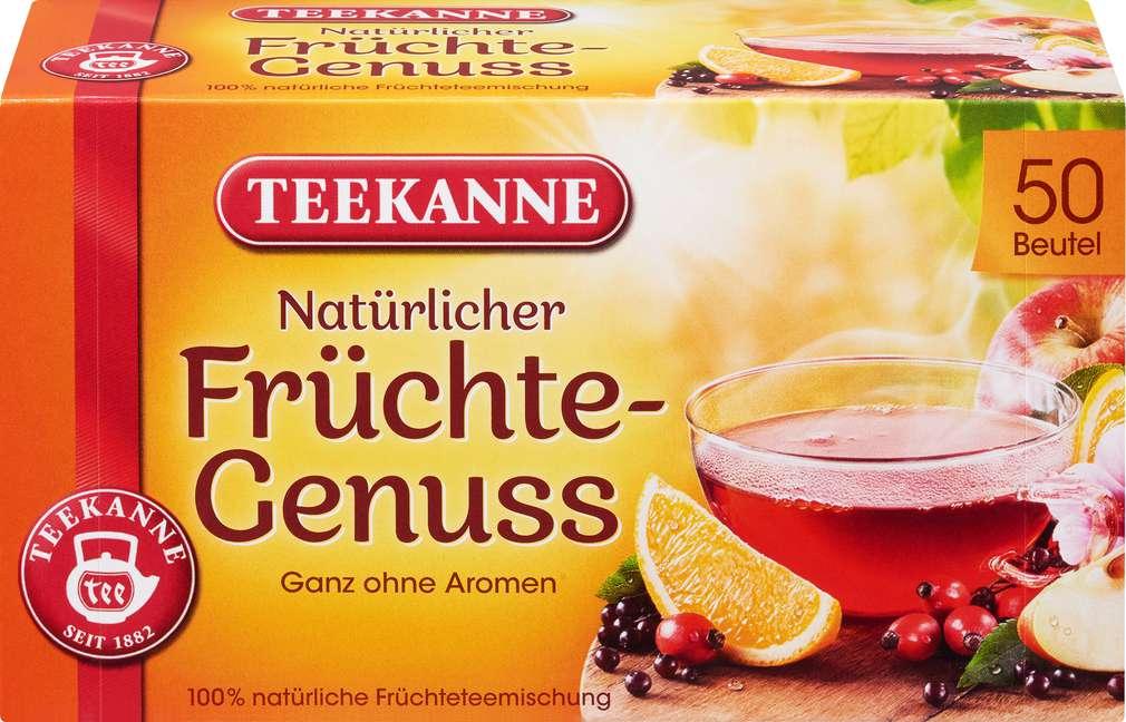 Abbildung des Sortimentsartikels Teekanne Natürlicher Früchtegenuss 50x3g