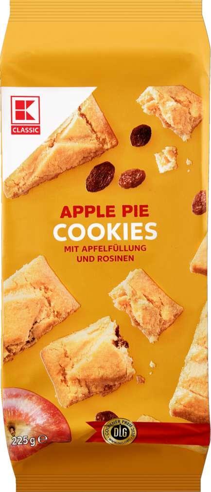 Abbildung des Sortimentsartikels K-Classic Farmer Cookies Apple Pie 225g