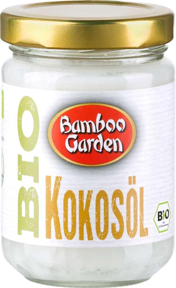 Abbildung des Sortimentsartikels Bamboo Garden Bio Kokosöl 130ml