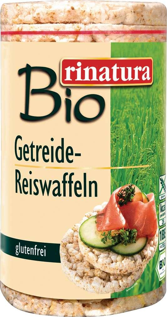 Abbildung des Sortimentsartikels Rinatura Getreide-Reiswaffeln 100g