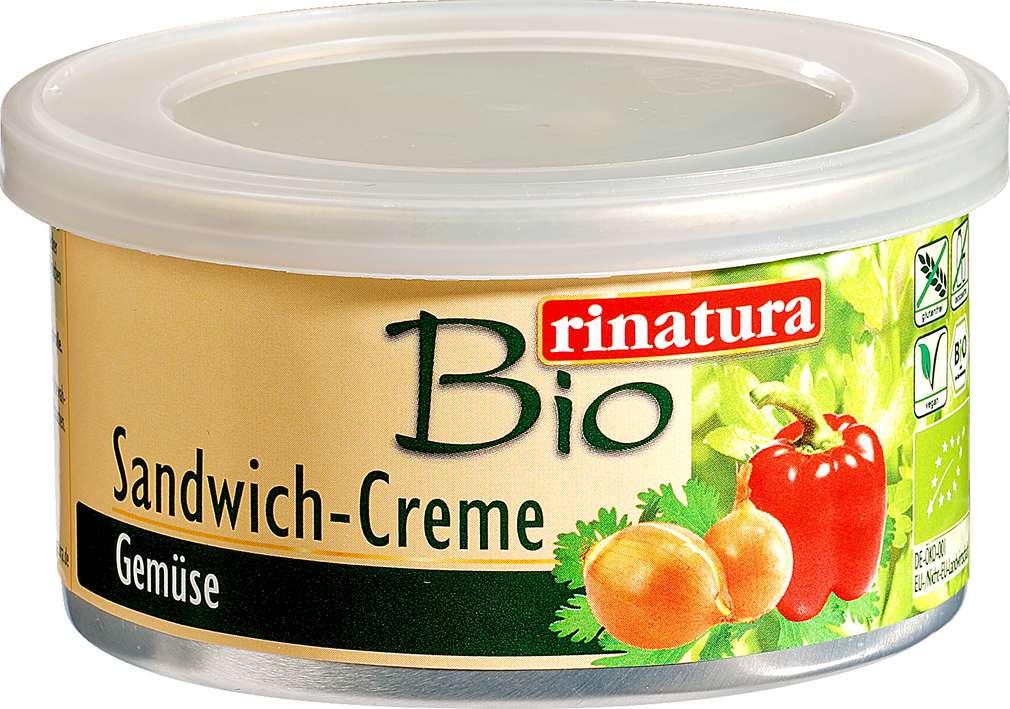 Abbildung des Sortimentsartikels Rinatura Bio Sandwich-Creme Gemüse 125g