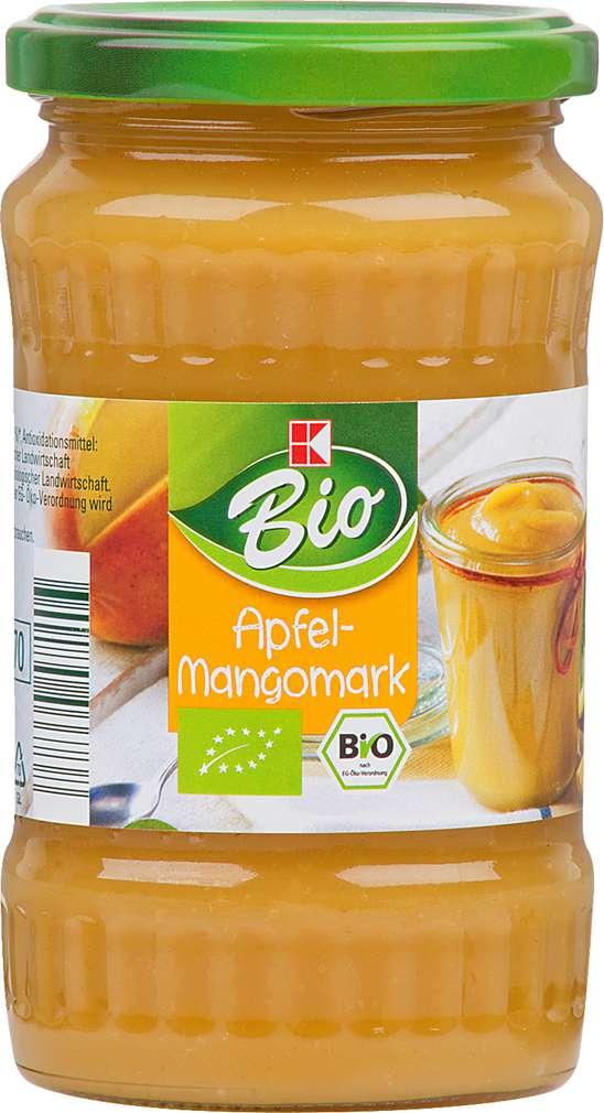 Abbildung des Sortimentsartikels K-Bio Apfel-Mangomark 370ml