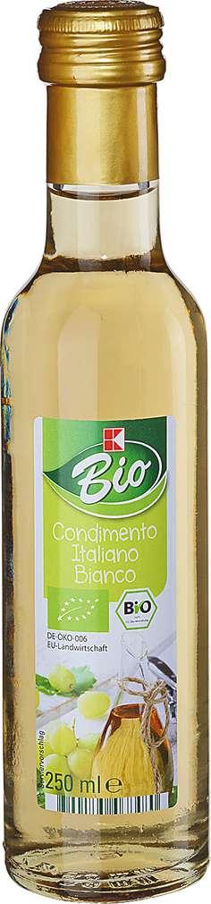 Abbildung des Sortimentsartikels K-Bio Condimento Italiano Bianco 250ml