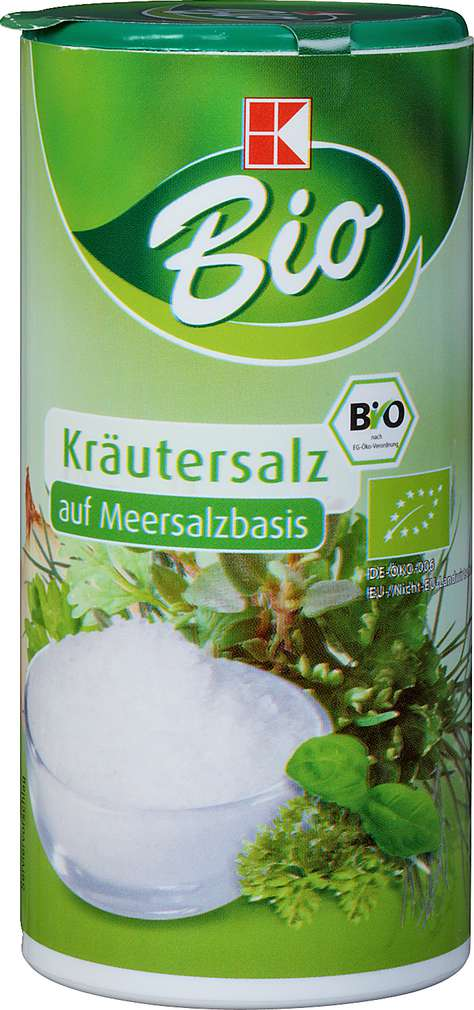 Abbildung des Sortimentsartikels K-Bio Kräutersalz 150g