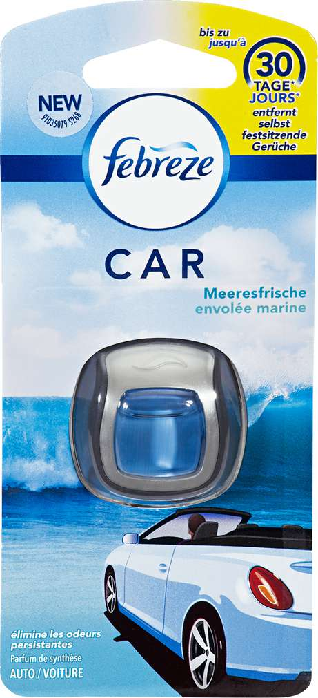 Abbildung des Sortimentsartikels Febreze Car Lufterfrischer Meeresfrische