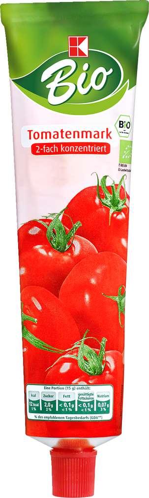 Abbildung des Sortimentsartikels K-Bio Tomatenmark 2-fach konzentriert 200g
