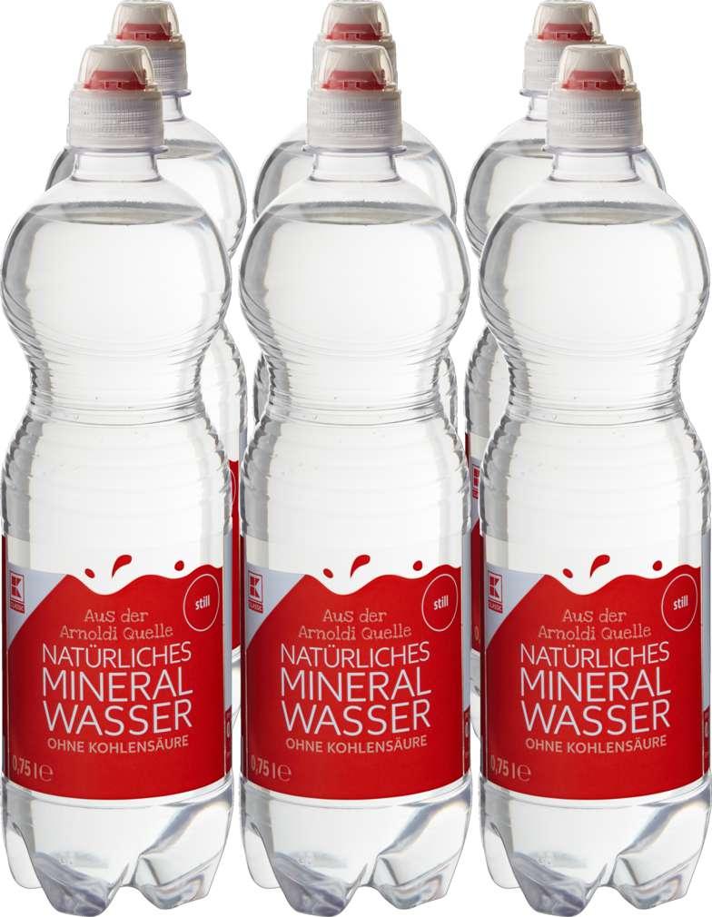 Abbildung des Sortimentsartikels K-Classic Mineralwasser still 6x0,75l