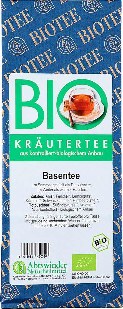 Abbildung des Sortimentsartikels Abtswinder Kräuter-Basentee 80g