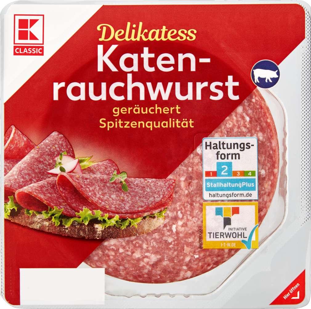 Abbildung des Sortimentsartikels K-Classic Katenrauchwurst 200g