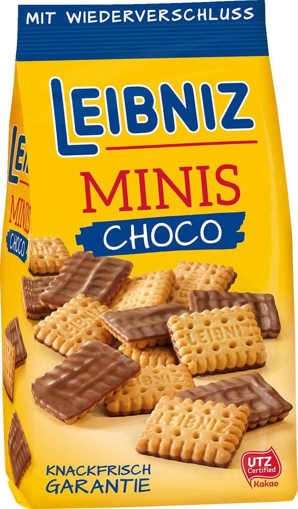 Abbildung des Sortimentsartikels Bahlsen Minis Choco 125g