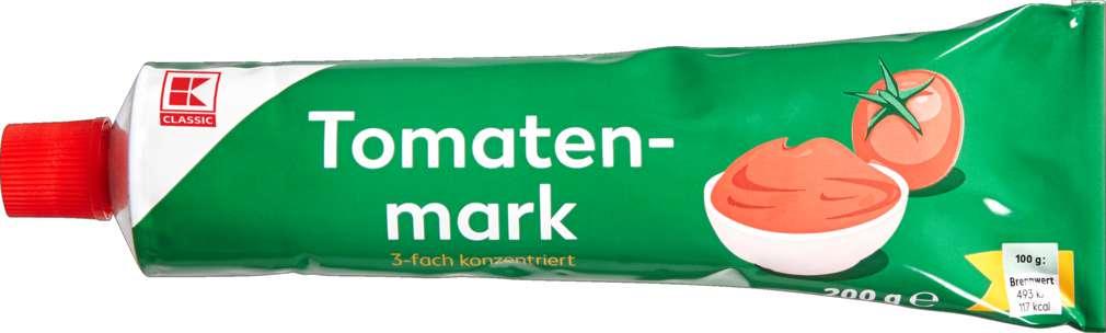 Abbildung des Sortimentsartikels K-Classic Tomatenmark 3-fach konzentriert 200g