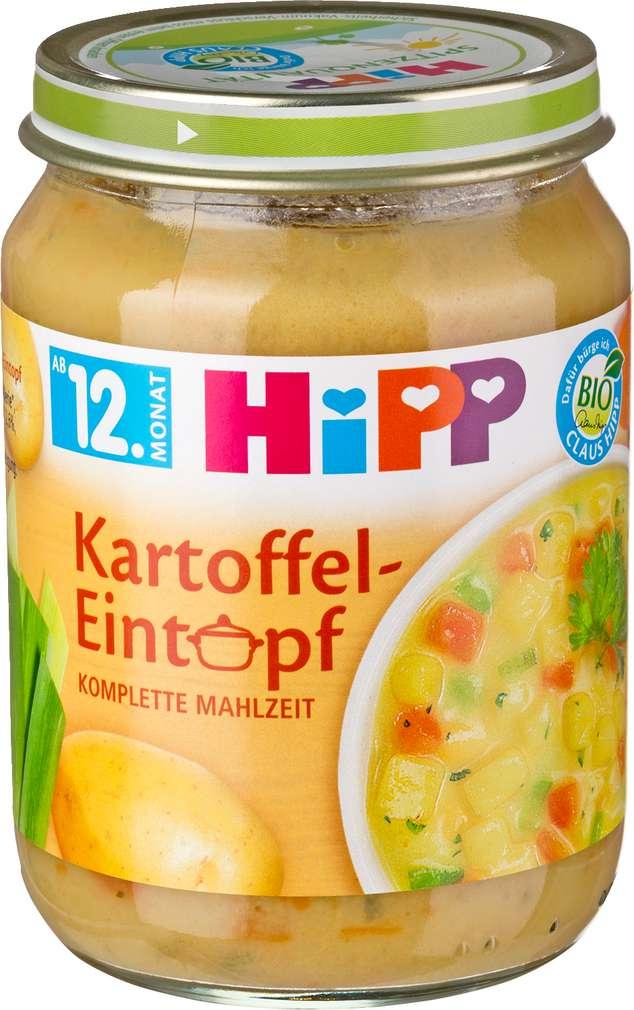 Abbildung des Sortimentsartikels Hipp Kartoffeleintropf 250g