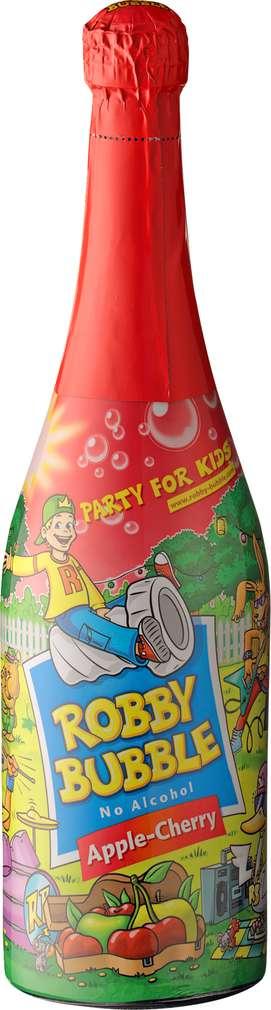 Abbildung des Sortimentsartikels Robby Bubble Apple-Cherry alkoholfrei 0,75l