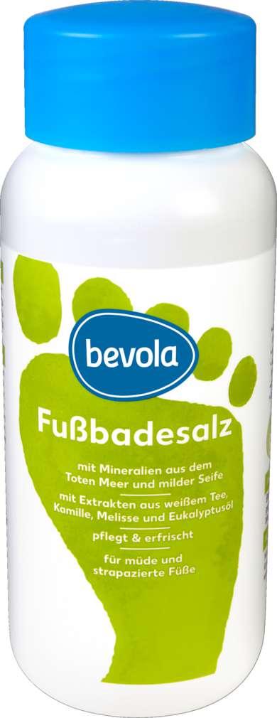 Abbildung des Sortimentsartikels Bevola Fußbadesalz 450g