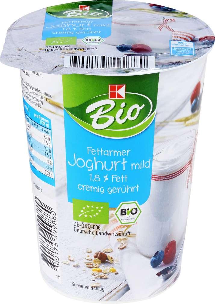 Abbildung des Sortimentsartikels K-Bio Fettarmer Joghurt mild 500g